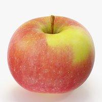 3D apple 09 model