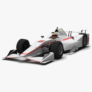 power indy season 2017 3D model