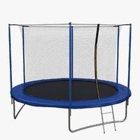 3D trampoline sport