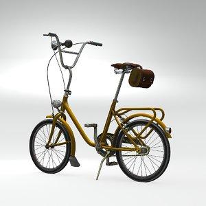 vintage cycle 3D model