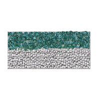 Glass gabion horizontal