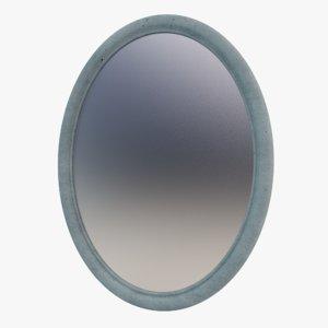 concrete mirror 3D