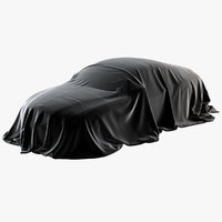 realistic cover car velvet 3D model