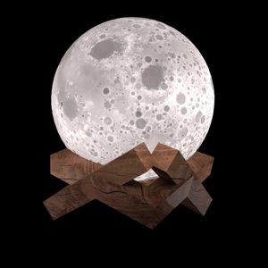 lamp moon light 3D