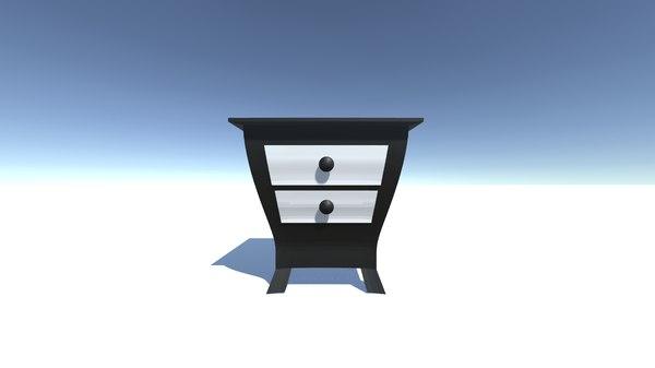 dresser drawers model