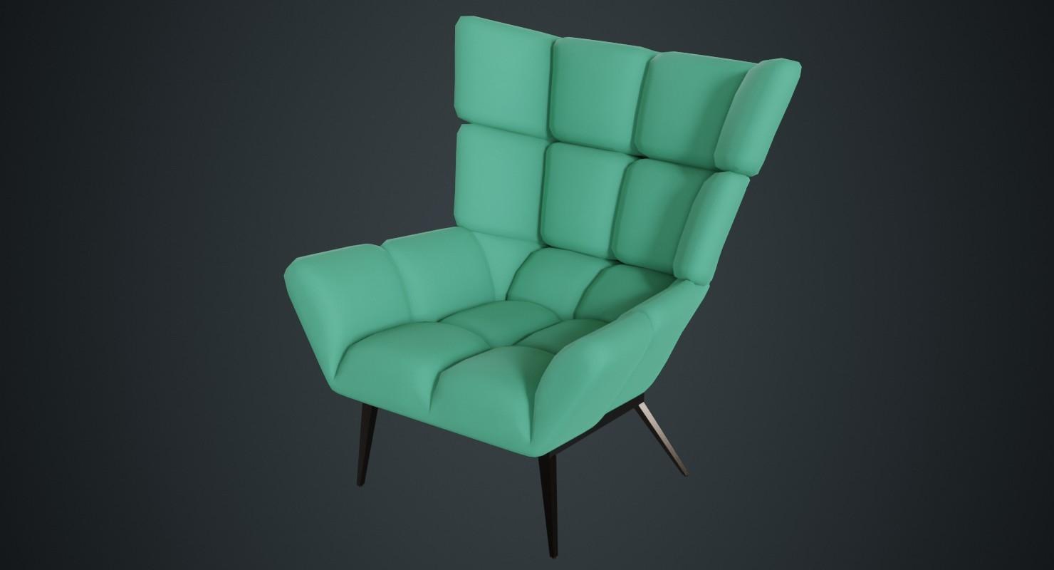 tuulla chair 1b 3D model