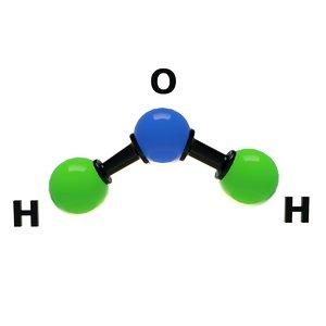 3D water molecular