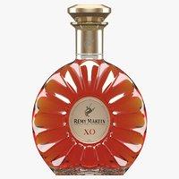 remy martin xo cognac 3D model