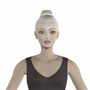 3D eva ballet model
