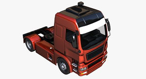 3D generic tractor vehicles model