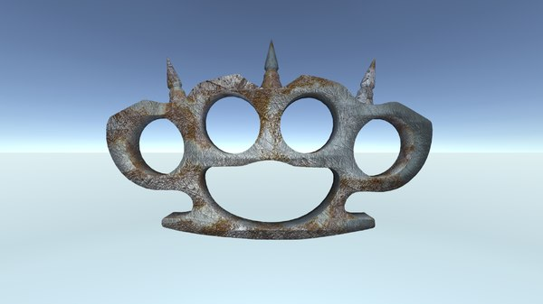 3D knuckle duster