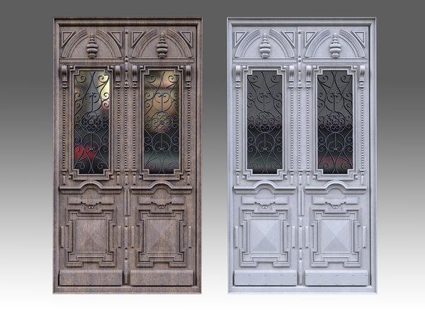 classic door 3D model