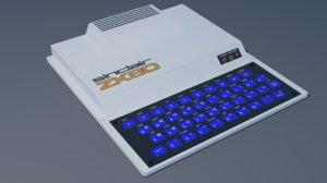 3D sinclair zx80