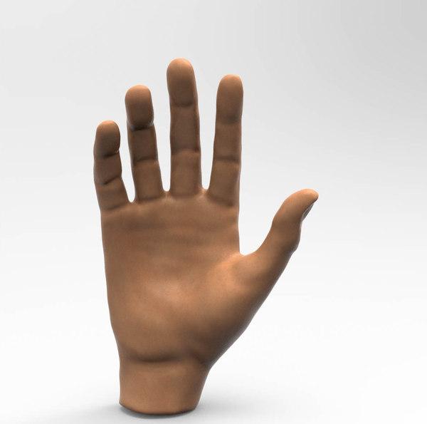 3D human hand model