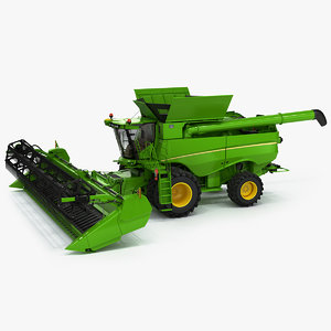 3D combine harvester generic