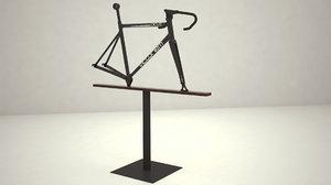 3D model exhibition frame bike