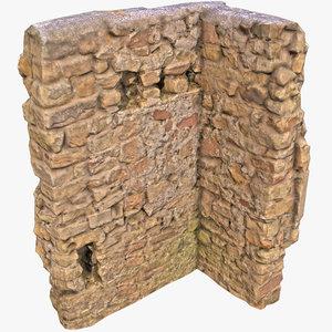 wall corner 3D model