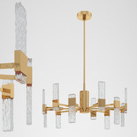 kuzco lighting oslo ch9528 3D