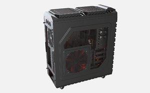 pc case haf-x 3D model