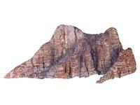 wadi rum mountains mars 3D model