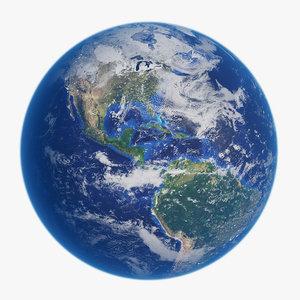 3D earth 43k
