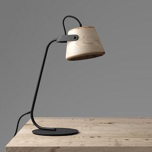 3D jardan sol table lamp