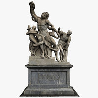 Laocoon and his Sons statue