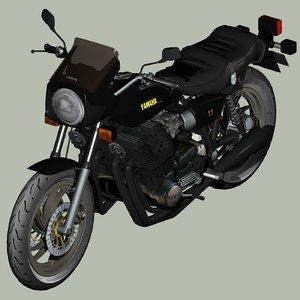 3D classic yamaha model