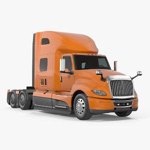 heavy duty truck simple 3D