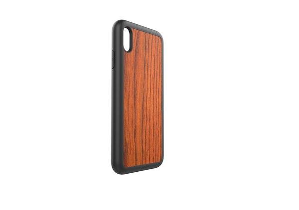 3D apple xs wood case model