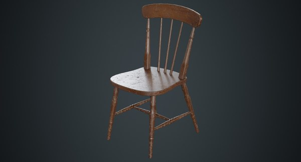kitchen chair 2b 3D