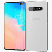 realistic samsung galaxy s10 model