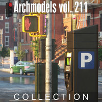 3D model archmodels vol 211