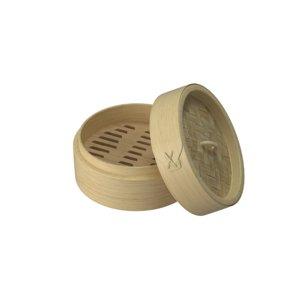 bamboo steamer 3D model