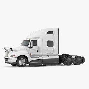 international lt625 truck simple 3D model