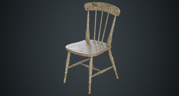 kitchen chair 2c 3D