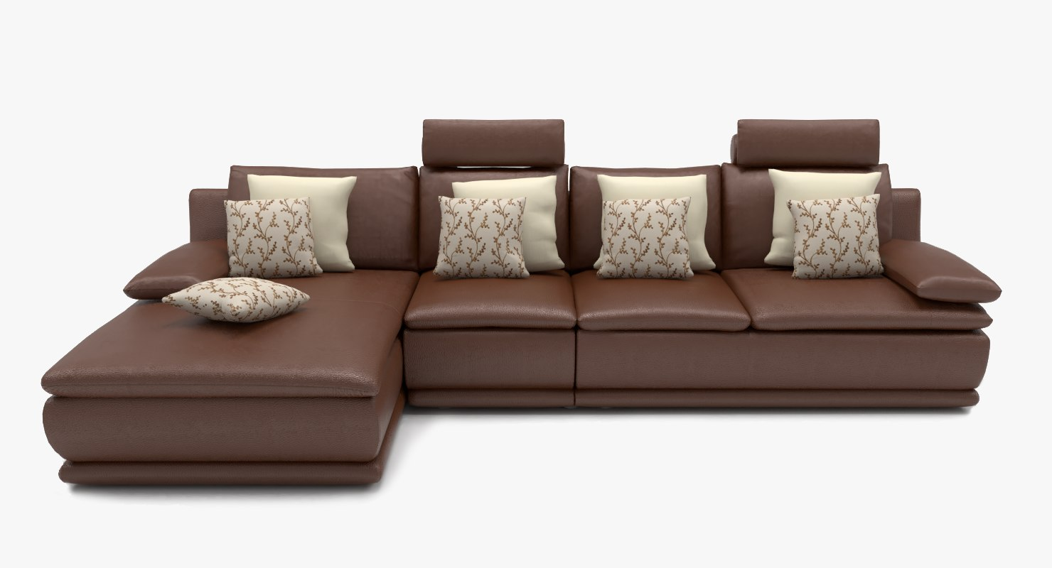 3D model sofa l shape - TurboSquid 1380770