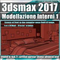 009 3ds max 2017 Modellazione Interni v.9.0 Italiano cd front