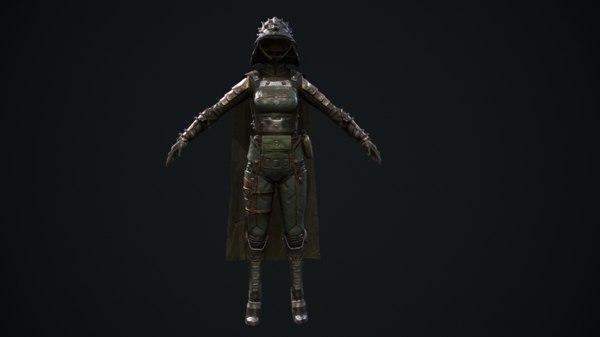 female set 1 model
