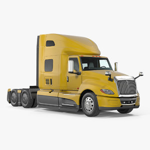 3D heavy duty truck model