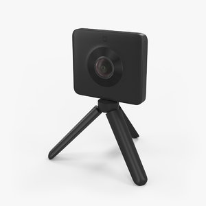 3D sphere camera kit model