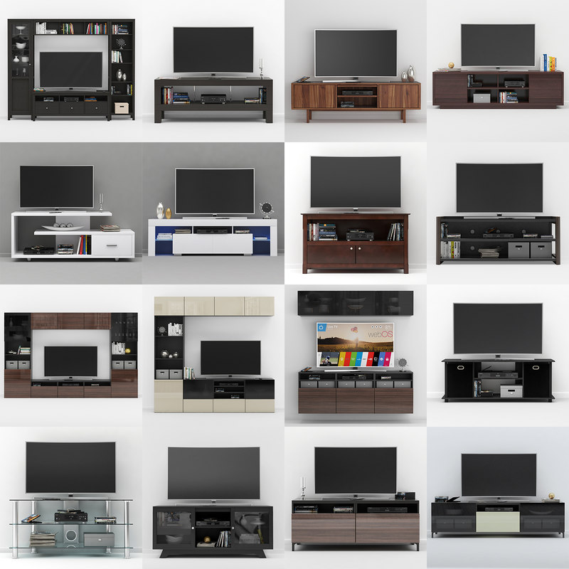 furniture ikea tv stand 3D model