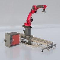 6 Axis Industrial Robot