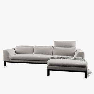 3D model sofa divani casa