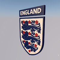 3D england national team football