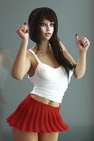 female girl schoolgirl 3D model