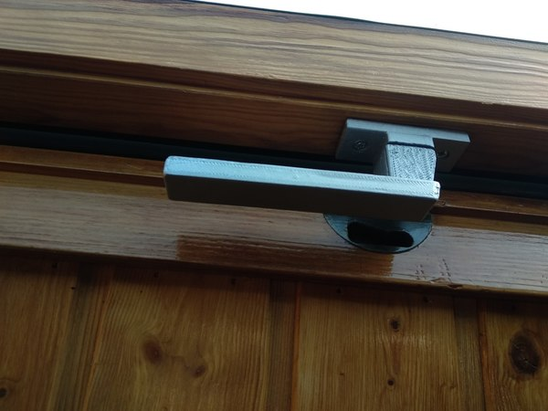 3D model security handle velux windows