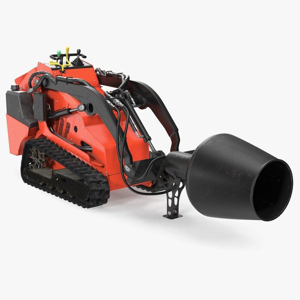 mini skid steer loader 3D