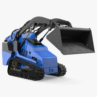 3D mini skid steer bucket