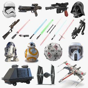 star wars 3 3D model